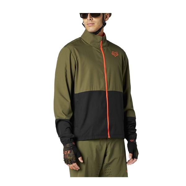 Fox Racing Ranger Wind Jacket olive green 2021