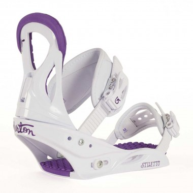 Burton Stiletto wms white/purple 16/17