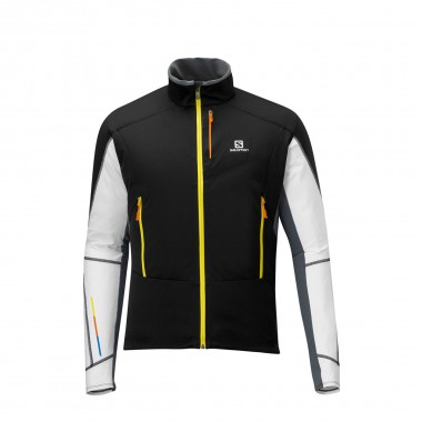 Salomon Elite WS Jacket black/white/cloud 13/14