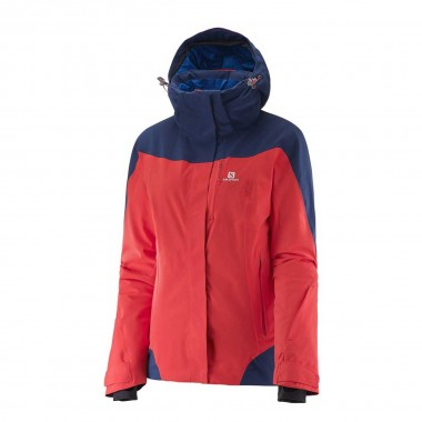 Salomon Icerocket Jacket wms red/wisteria 16/17