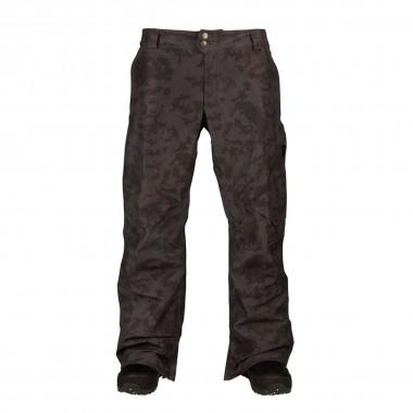 Burton AK 2L Cyclic Pant true black hombre camo 16/17