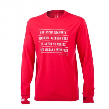Mons Royale Original LS red 15/16