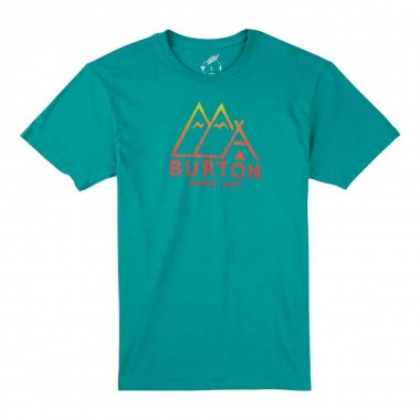 Burton Foothills SS Tee teal heather 15/16