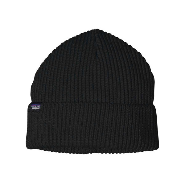 Patagonia Fishermans Rolled Beanie black 21/22