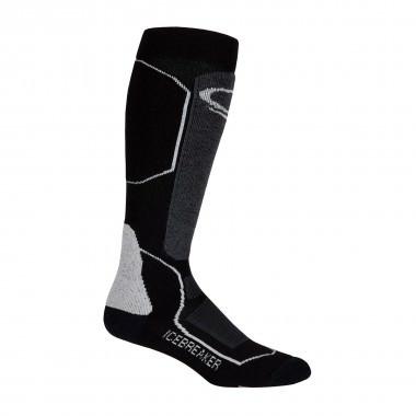 Icebreaker Socks Ski+ Mid OTC wms black/oil/silver 15/16