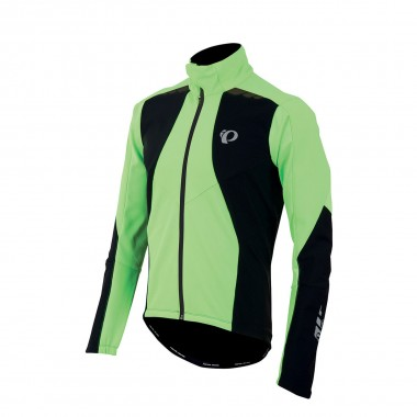 Pearl Izumi Pro Softshell 180 Jacket green / black 15/16