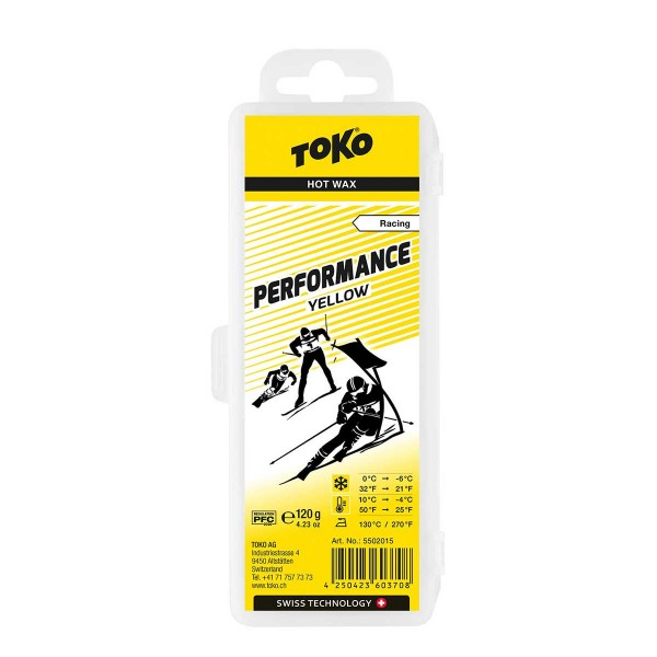 Toko Performance Hot Wax yellow 120g 19/20