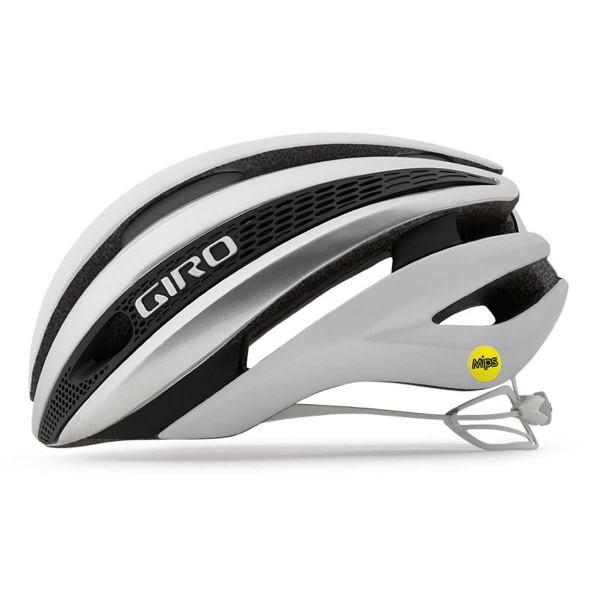 Giro Synthe Mips mat white/silver 2020
