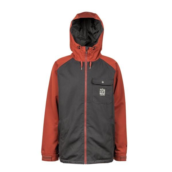 L1 Hasting Jacket black/rust 18/19