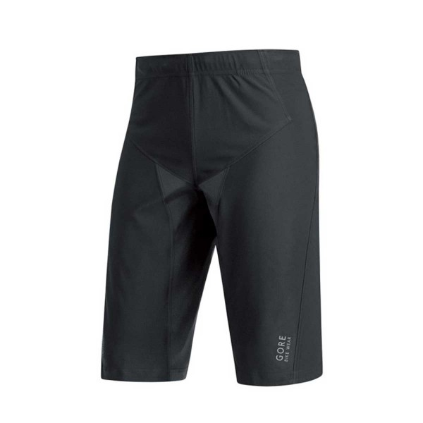 Gore Alp-X Pro Windstopper Soft Shell Shorts black