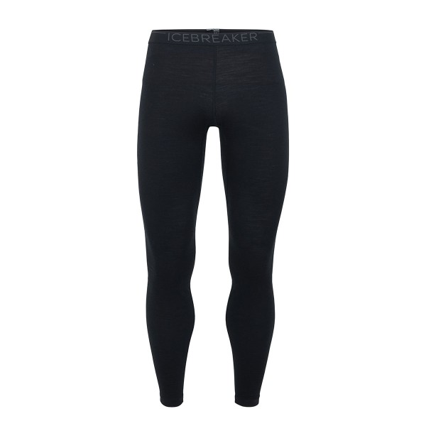 Icebreaker 200 Oasis Leggings black/monsoon 18/19