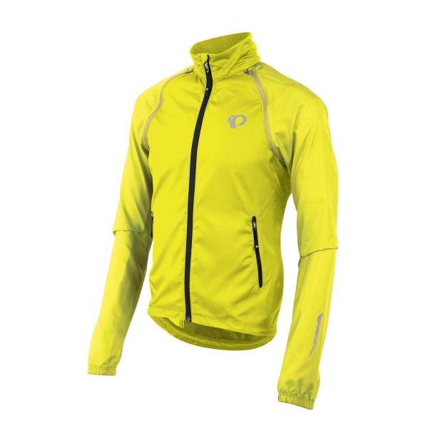 Pearl Izumi Elite Barrier Convertible Jacket screaming yellow 2018