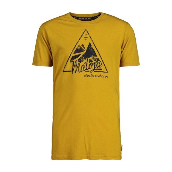 Maloja ChaleschM. T-Shirt golden sun 2020