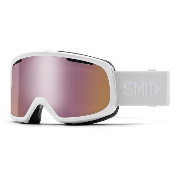 Smith Riot wms white vapor / ChromaPop everyday rose gold mirror 20/21
