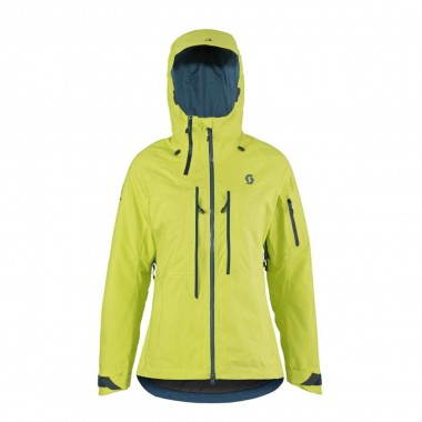 Scott Ultimate GTX Jacket wms yellow 16/17
