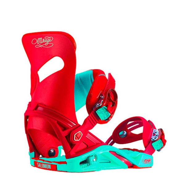 Salomon Mirage wms red/turquoise 15/16