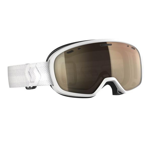 Scott Muse Pro LS white /light sensor bronze chrome 20/21