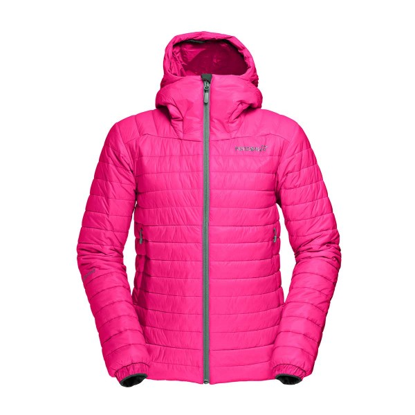 Norrona falketind PrimaLoft 100 Hood Jacket wms graffitti pink 16/17
