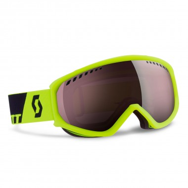 Scott Faze neon yellow silver chrome 15/16