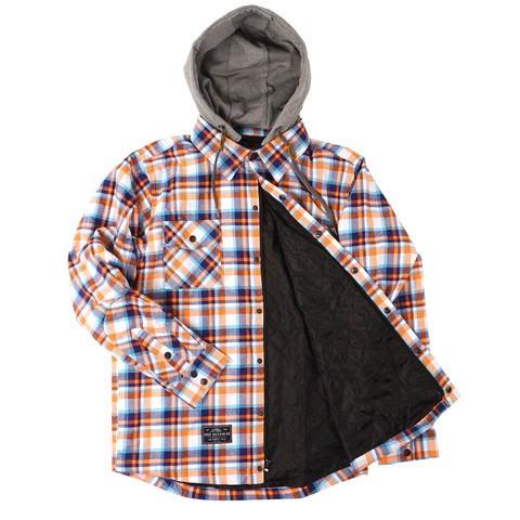 Saga Outerwear Insulated Flannel orange/navy 15/16