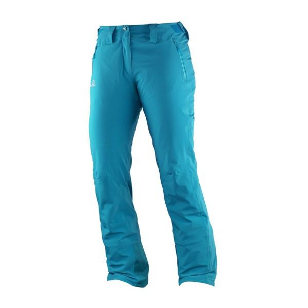 Salomon Iceglory Pant wms kouak blue 16/17