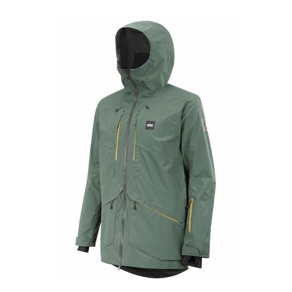 Picture Zephir Jacket lichen green 21/22