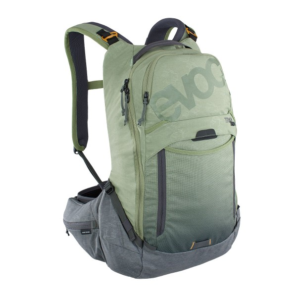 EVOC Trail Pro 16L light olive/carbon grey 2021