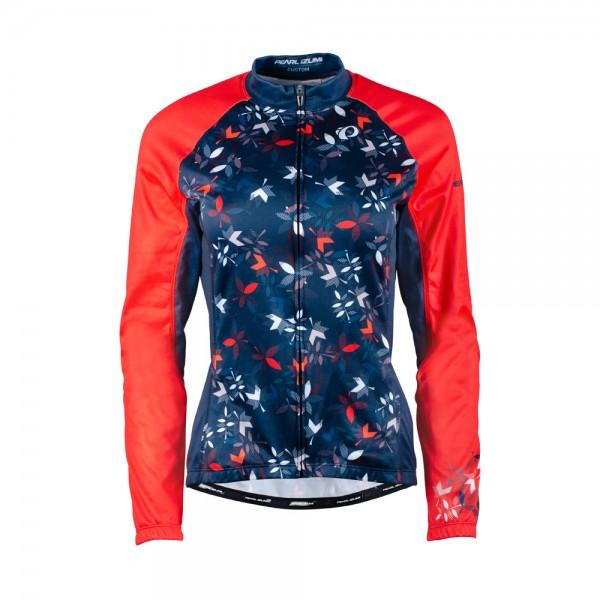 Pearl Izumi Elite LTD Thermal LS Jersey wms winterflower navy / screaming red 20/21