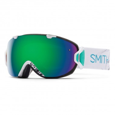 Smith I/OS wms white feathers/green sol-x 15/16