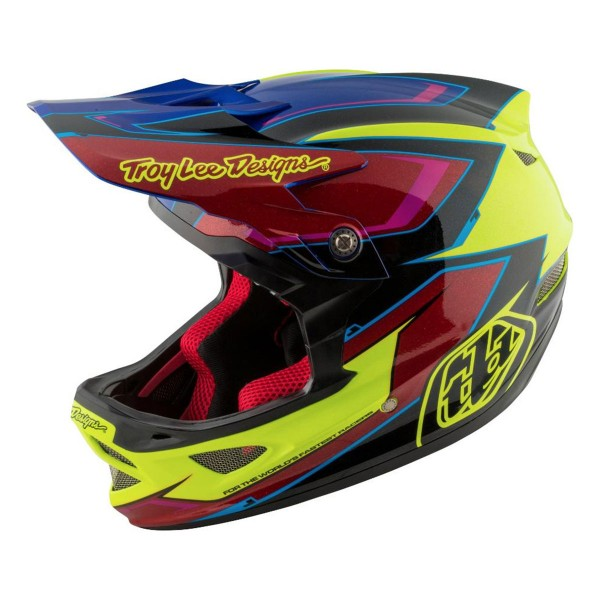 Troy Lee D3 cadence yellow/red 2017