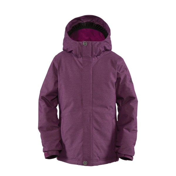 Bonfire Poppy Jacket girls merlot/storm
