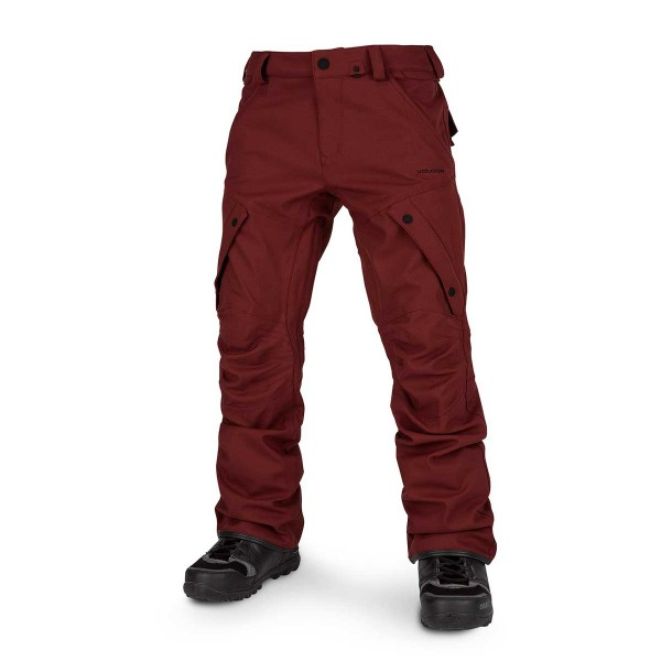 Volcom Articulated Pant burnt red 19/20
