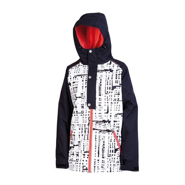 Nitro Blue Monday Jacket wms dots black 13/14