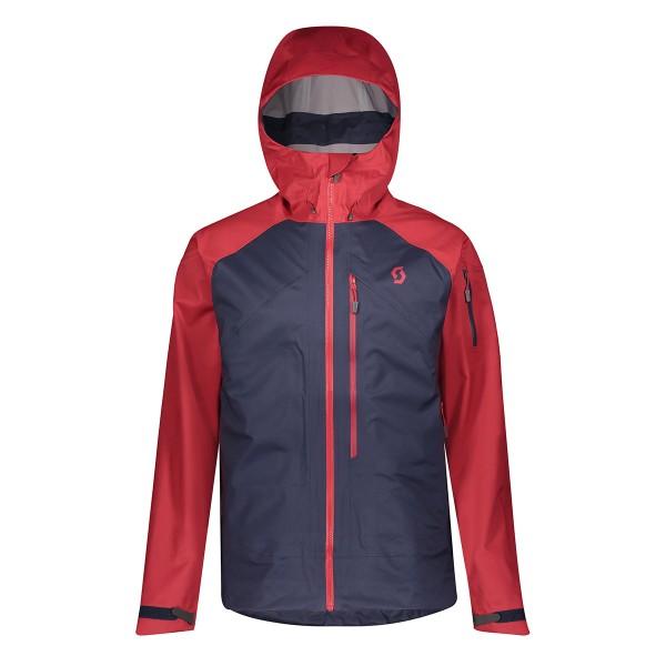 Scott Explorair 3L Jacket wine red/blue 19/20