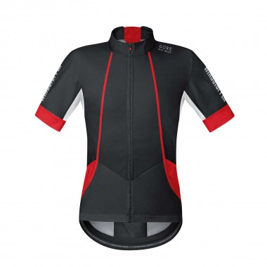 Gore Oxygen Soft Shell Trikot black / red 2015