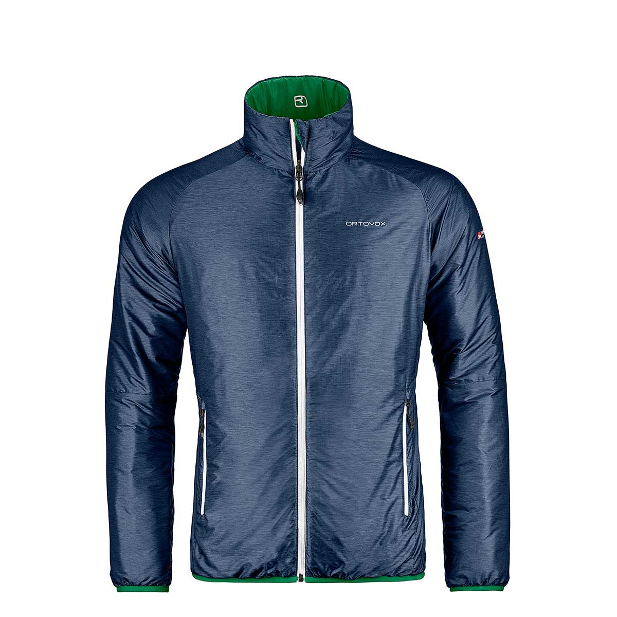 32da91cd9 Ortovox Swisswool Piz Boval Jacket night blue 17/18 - Softshell & Isolation