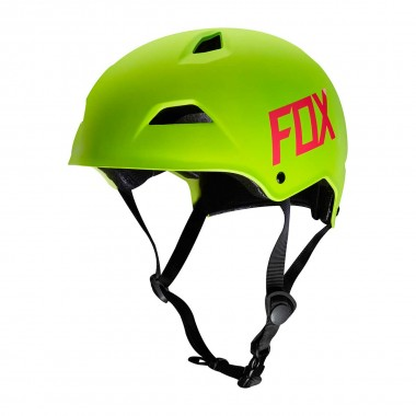 Fox Flight Hardshell Helmet flo yellow 2016