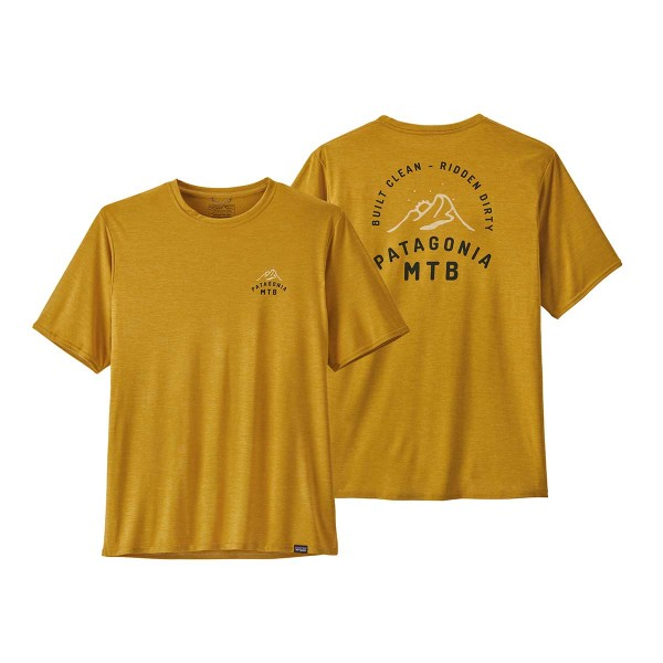 Patagonia Capilene Cool Daily Graphic Shirt mtb gold x 2021