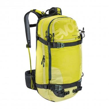 EVOC FR Guide Team 30L olive/sulphur 16/17