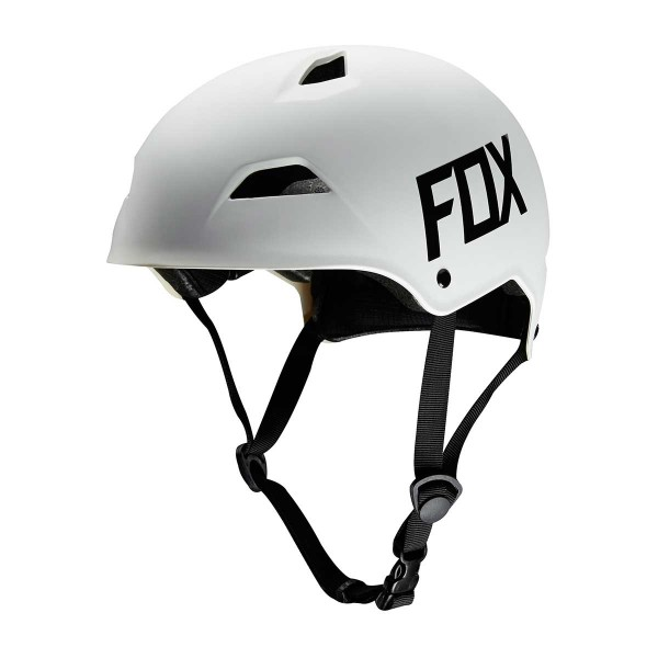 Fox Flight Hardshell Helmet matte white