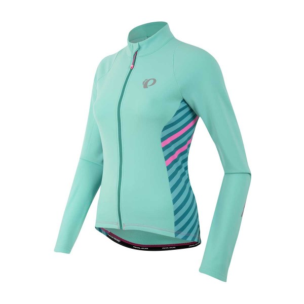 Pearl Izumi W Select Pursuit Thermal Jersey wms aqua mint stripe 16/17