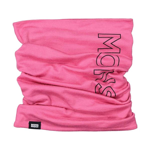 Mons Royale Double Up Neckwarmer pink 20/21
