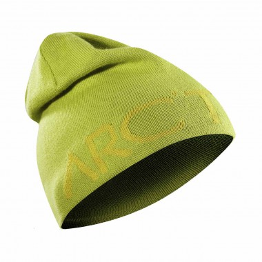Arcteryx Word Head Long Toque green/brimst 14/15
