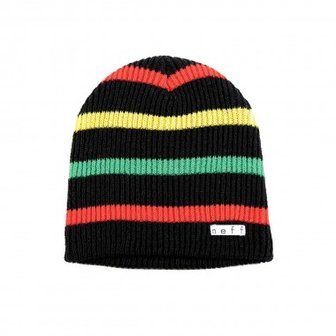 Neff Daily Stripe black/rasta 13/14
