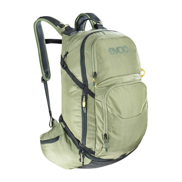 EVOC Explorer Pro 30L heather light olive 2020