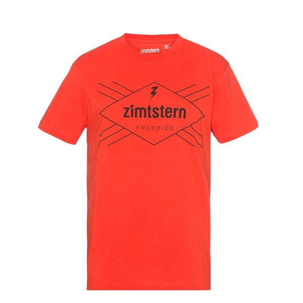 Zimtstern TSM_Ride Free T-Shirt fire 2016