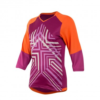 Pearl Izumi Launch 3/4 Sleeve Jersey wms clementine 2016