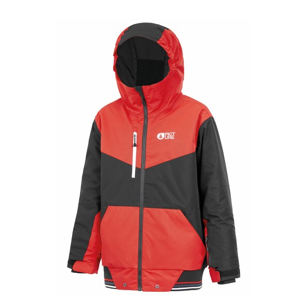 Picture Slope Jacket kids red 20/21