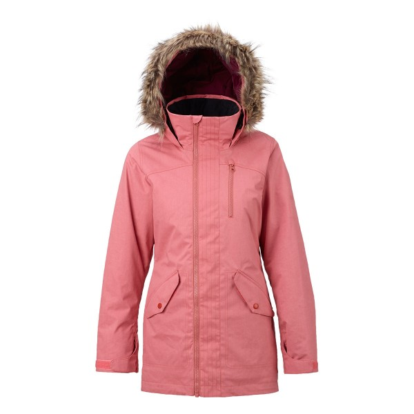 Burton Hazel Jacket wms dusty rose wax 17/18