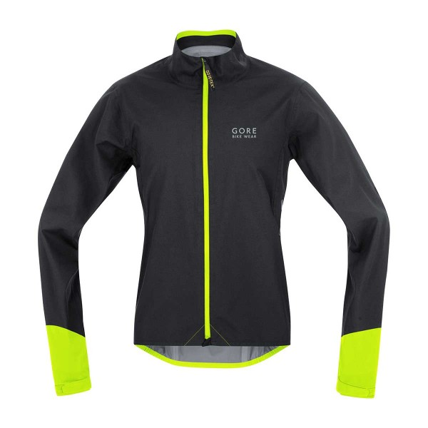 Gore Power Gore-Tex Active Jacke black/yellow 16/17